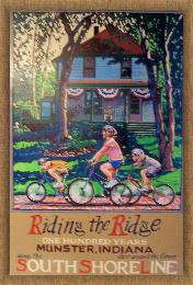 Riding the Ridge, Kaske House, Munster Centennial Poster